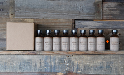 Vetiver Beard Oil Case Pack