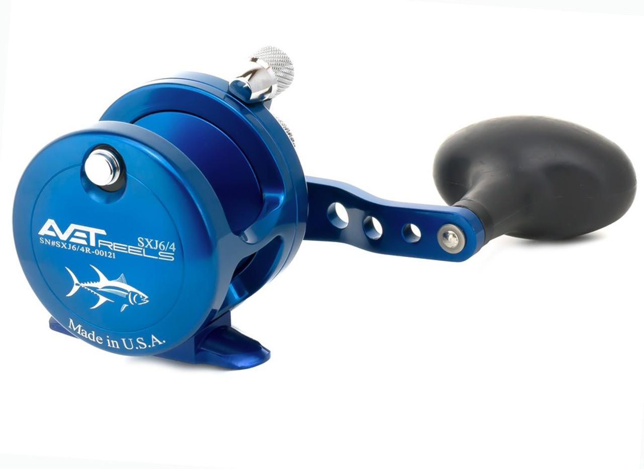 Avet Reels - SXJ 6/4 2-Speed Blue