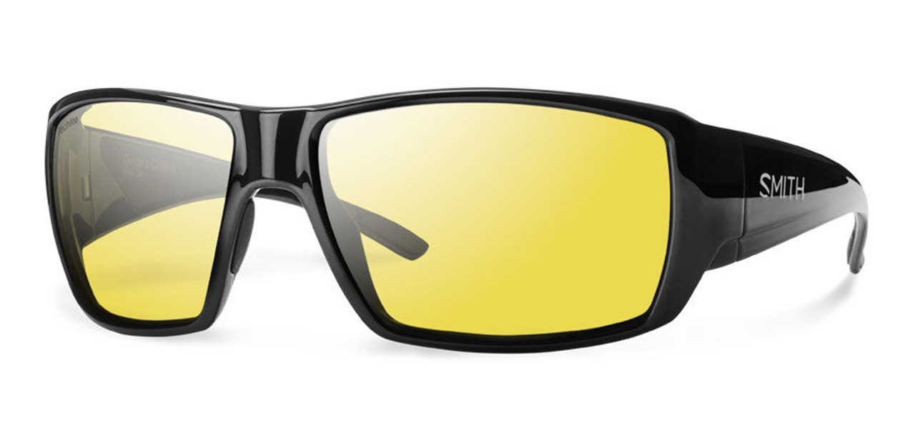 8dbed9a31f Smith Optics Sunglasses - Guide s Choice - Black Frame - Techlite Polarized  Low Light Ignitor Lens - Alltackle.com