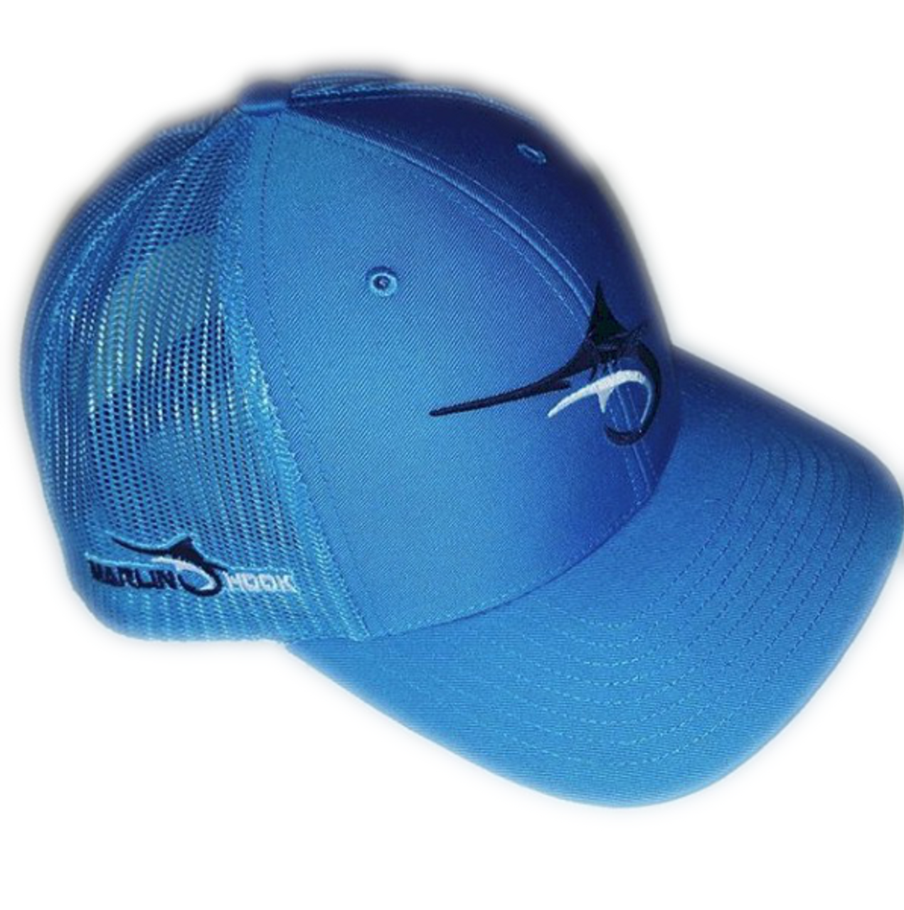 969929ab14dca Marlin Hook Trucker Hat - Symbol - All Royal - Alltackle.com
