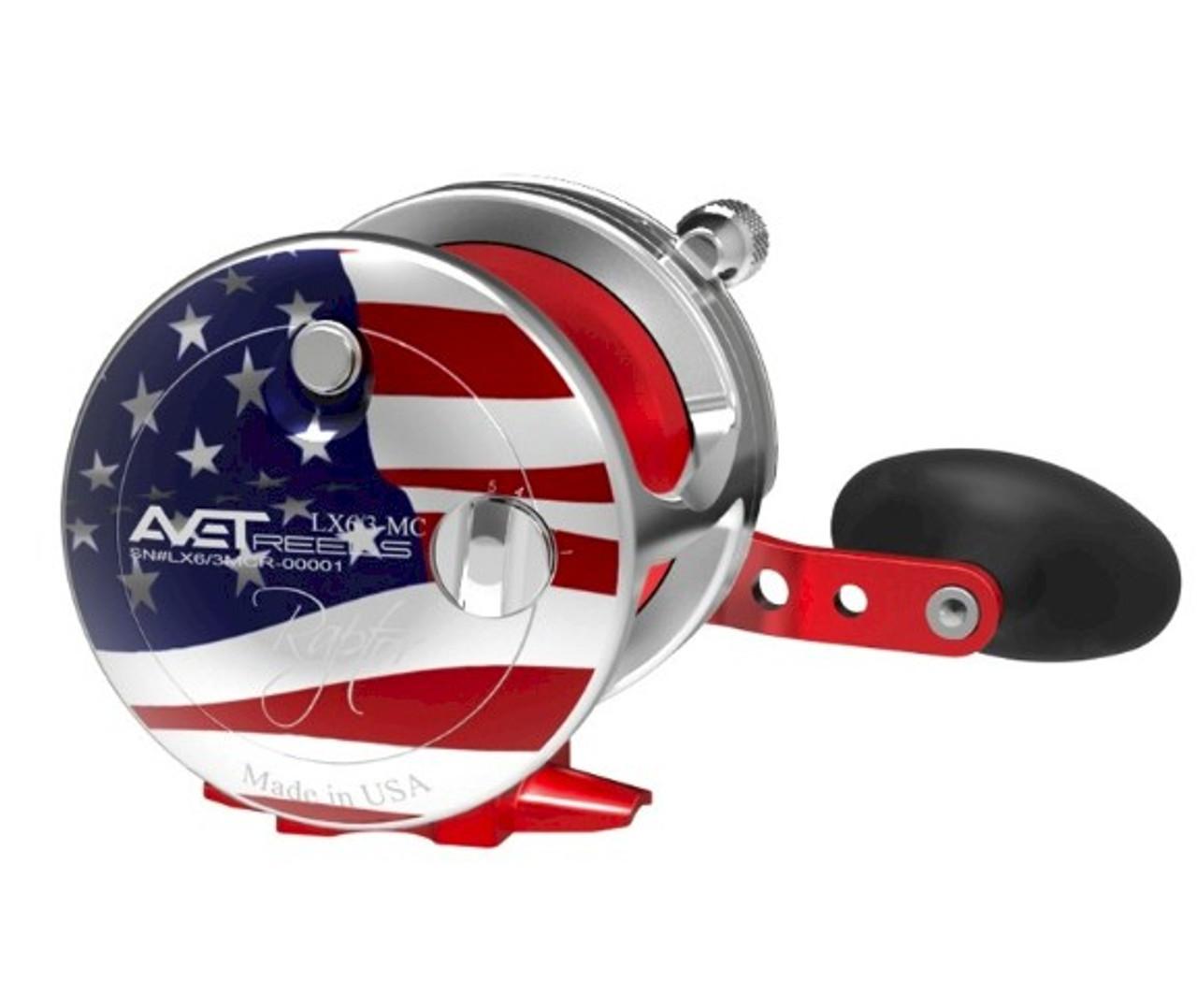Avet Reels - JX Raptor MC 2-Speed Patriot