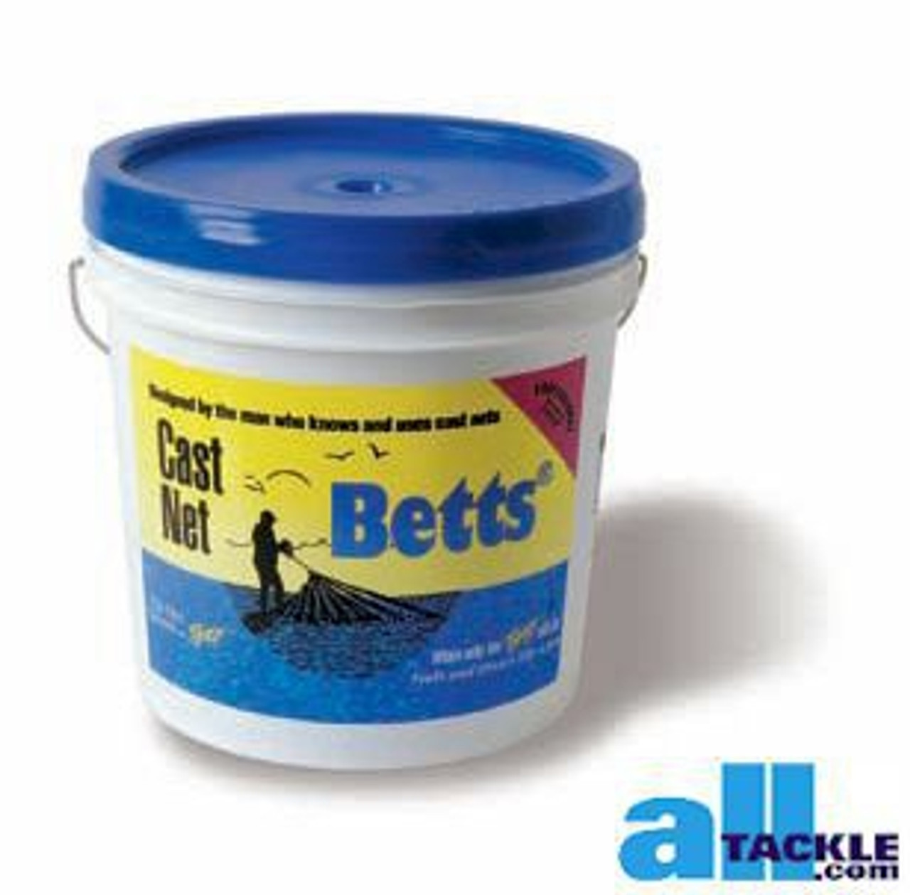 "Betts 30-10 Morada Series Cast Net 10 ft environ 3.05 m radius x 1//2/"" Mesh 25719"