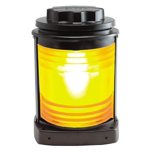 Perko Towing Light - Black Plastic, Yellow Lens