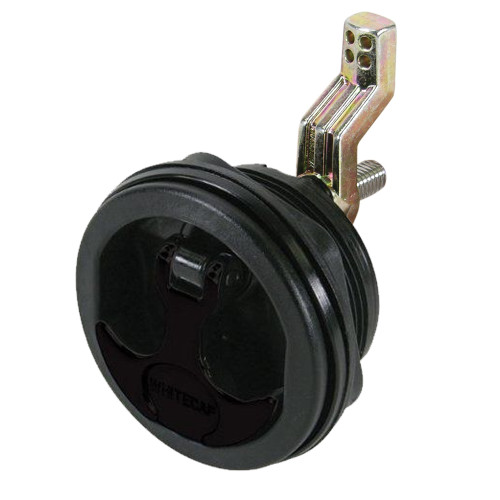 Whitecap T-Handle Latch - Nylon Black\/Black - Non-Locking