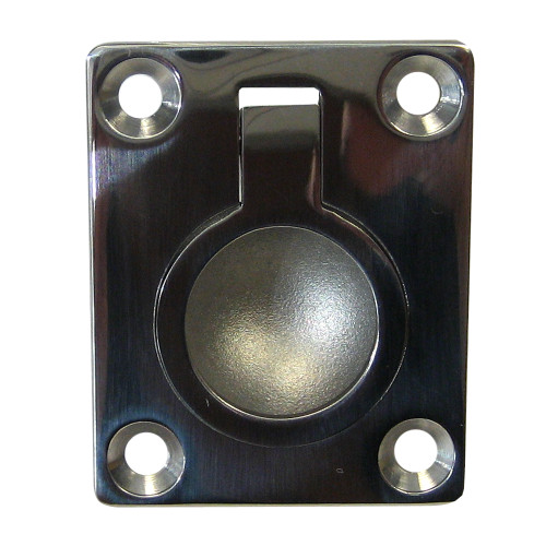 "Whitecap Flush Pull Ring - 316 Stainless Steel - 1-1\/2"" x 1-7\/8"""
