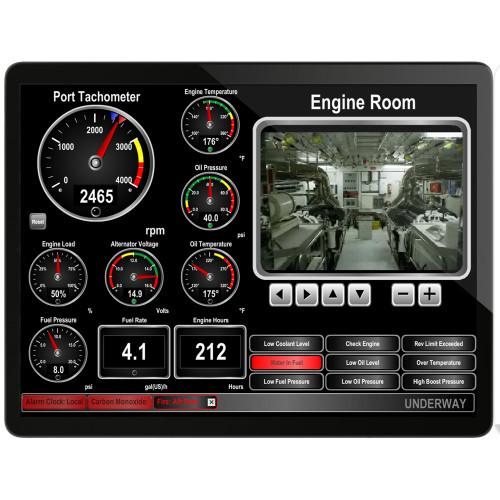 Maretron N2KView Vessel Monitoring & Control Software f\/PC