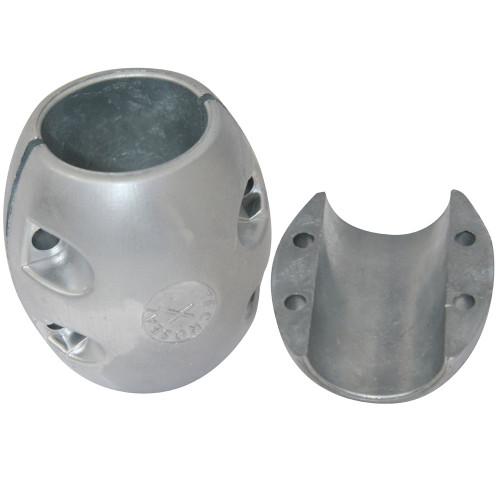 "Tecnoseal X9AL Shaft Anode - Aluminum - 2"" Shaft Diameter"