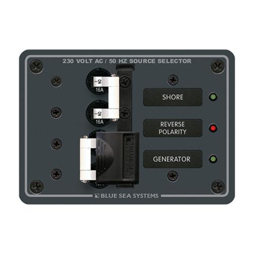 Blue Sea 8132 AC Toggle Source Selector (230V) - 2 Sources