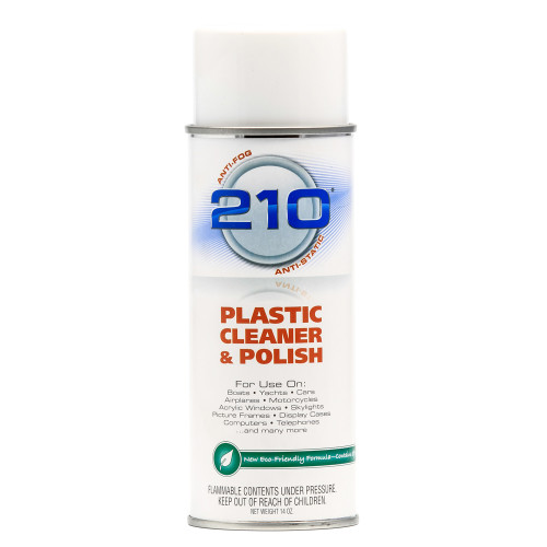 Camco 210 Plastic Cleaner Polish - 14oz Spray - Case of 12
