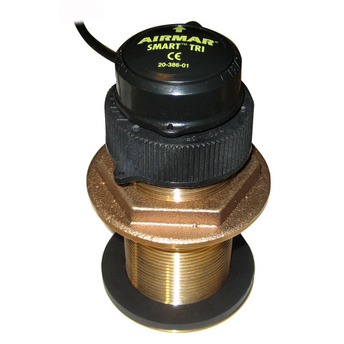 Furuno 235DST-MSE Bronze Thru-Hull, Digital Depth, Speed & Temp Sensor - 7-Pin