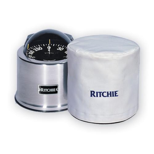 """Ritchie GM-5-C GlobeMaster 5"""" Binnacle Cover - White"""