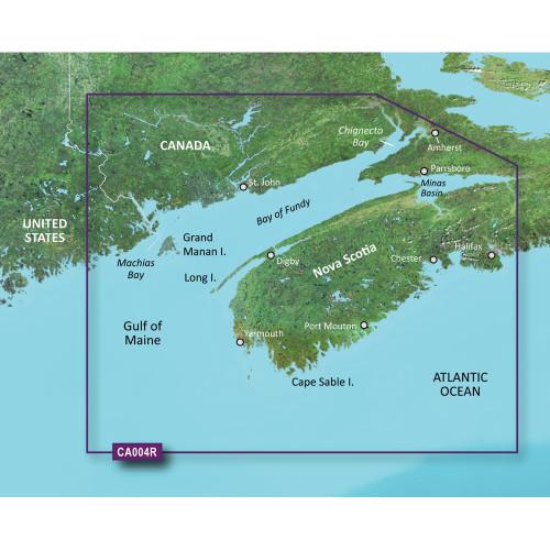 Garmin BlueChart g2 Vision- VCA004R - Bay of Fundy - microSD\/SD