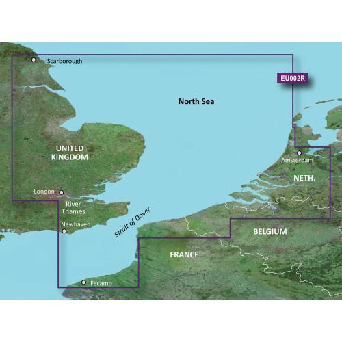 Garmin BlueChart g2 Vision - VEU002R - Dover to Amsterdam & England Southeast - microSD\/SD