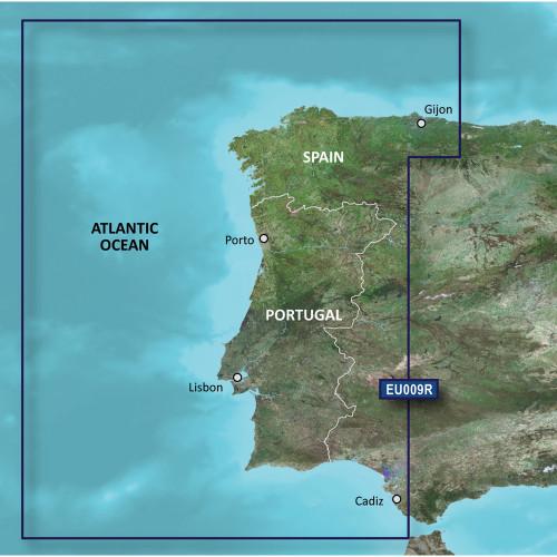 Garmin BlueChart g2 Vision - VEU009R - Portugal & NW Spain - SD Card