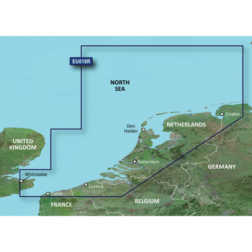 Garmin BlueChart g2 Vision - VEU018R - The Netherlands - SD Card
