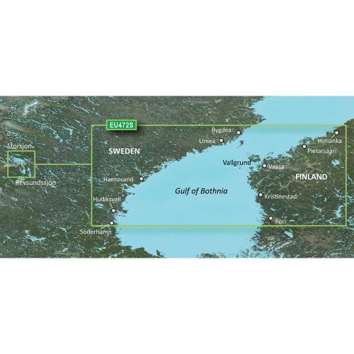 Garmin BlueChart g2 Vision - VEU472S - Gulf of Bothnia, Center - SD Card