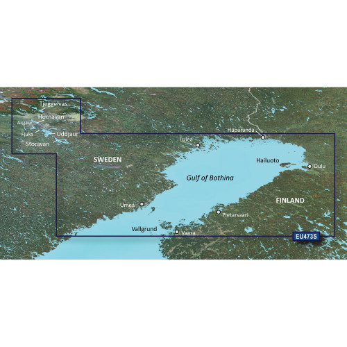 Garmin BlueChart g2 Vision - VEU473S - Gulf of Bothnia, North - SD Card
