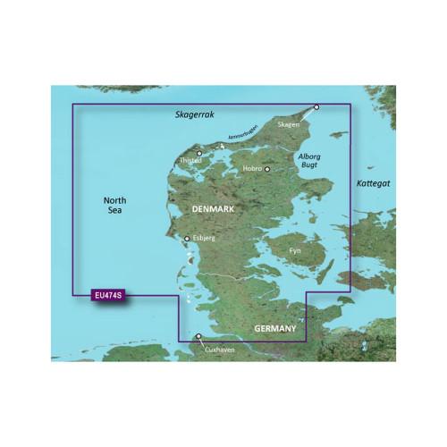 Garmin BlueChart g2 Vision - VEU474S - Alborg to the Eider - SD Card