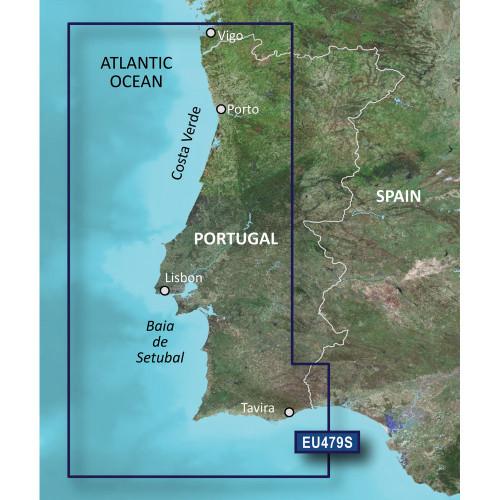 Garmin BlueChart g2 Vision - VEU479S - Portugal - SD Card