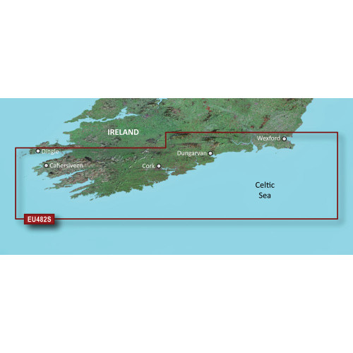 Garmin BlueChart g2 Vision - VEU482S - Wexford to Dingle Bay - SD Card