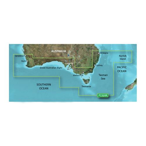 Garmin BlueChart g2 Vision - VPC020R - Brisbane SW - Geraldton - microSD\/SD