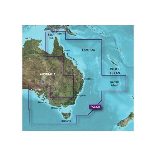 Garmin BlueChart g2 Vision - VPC022R - East Coast Australia - microSD\/SD