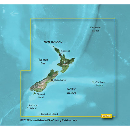 Garmin BlueChart g2 Vision - VPC023R - New Zealand - microSD\/SD