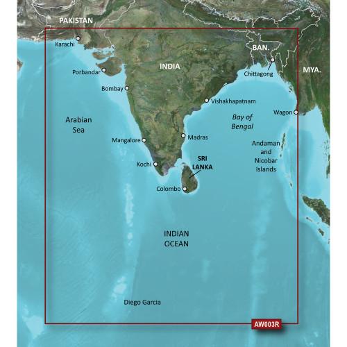 Garmin BlueChart g2 Vision - VAW003R - Indian Subcontinent - microSD\/SD