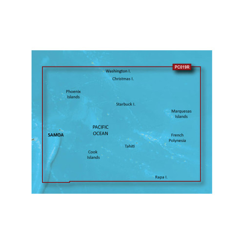 Garmin BlueChart g2 Vision - VPC019R - Polynesia - microSD\/SD