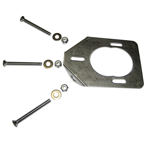 Lee's Stainless Steel Backing Plate f\/30 Degree Heavy Rod Holders