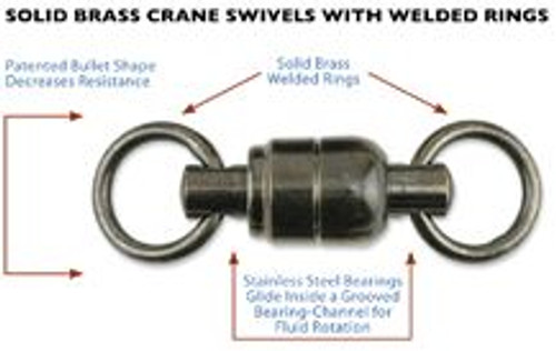 AFW Ball Bearing Swivel 130# 5 Pack