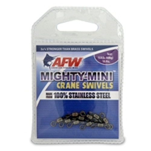 AFW Mighty-Mini Crane Swivel 133# 10 Pack