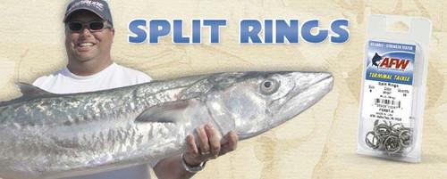 AFW Split Ring 80# 36 Pack