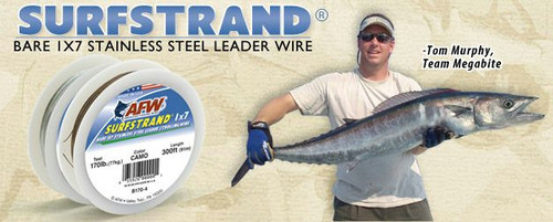 AFW Surfstrand Wire 600ft Bright Test: 60