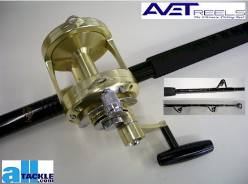 Alltackle Combo - Avet Pro EX 30/Crowder Bluewater Rod
