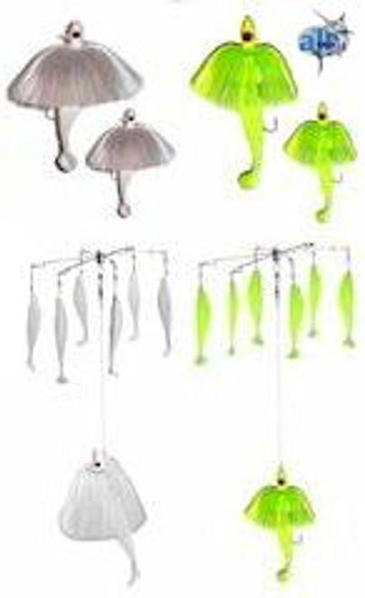 Alltackle Striper Umbrella and Tandem 4 Lure Kit
