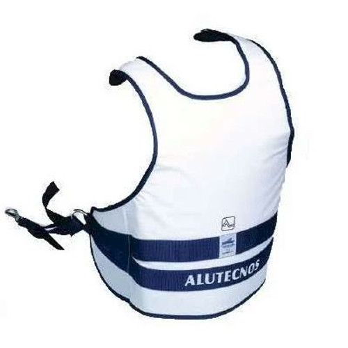 Alutecnos Fighting Jacket made in Italy, substantially useful and practical, equipped with an intuitive and simple use, designed to fish with the Alutecnos fighting chair helping to reduce the efforts during the action, thus becoming one with rod and reel. Made of ultra-resistant material, washable and properly padded to last over time.