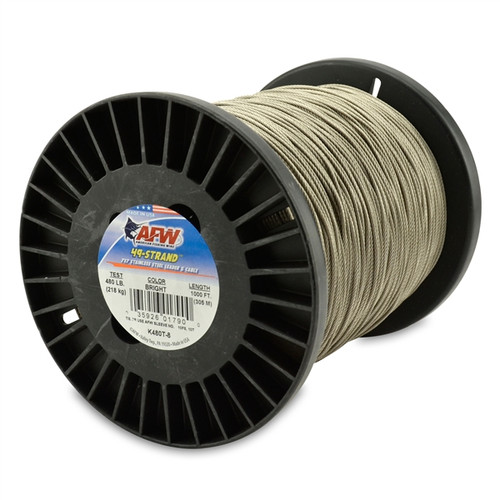 American Fishing Wire 49 Strand Bright 1000ftTest: 480