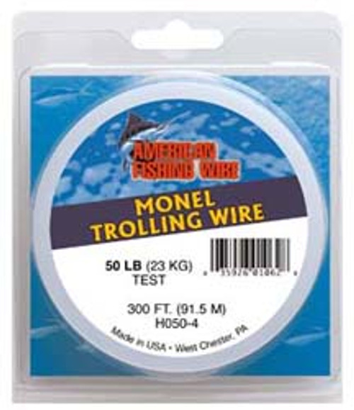 American Fishing Wire Monel Trolling Wire 2 x 300ftSpools Test: 30