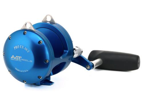 Avet Reels - EX 30 Narrow 2 Speed Reel Blue