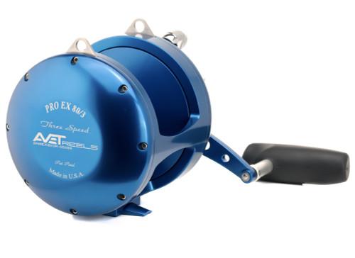 Avet Reels - EXW 30 Wide 2 Speed Reel Blue