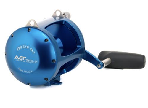 Avet Reels - EXW 50/2 Wide Blue