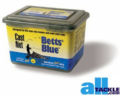 Betts Blue Cast Net 3/8 inch 5 ft