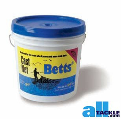 Betts Mullet Cast Net 1 inch 7ft