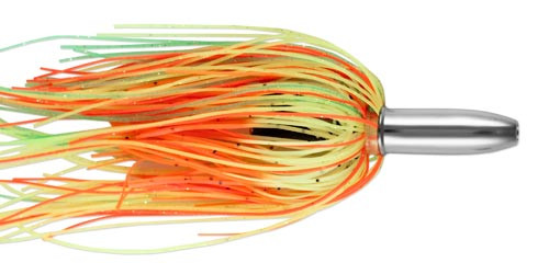 Billy Baits Mini Turbo Slammer Green /Yellow Orange