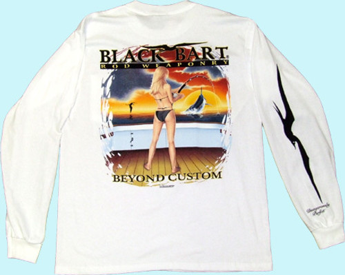 Black Bart T-Shirt LS Beyond Custom Medium