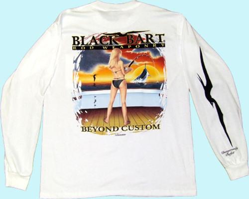 Black Bart T-Shirt LS Beyond Custom XXL