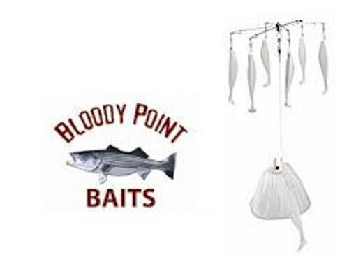 Bloody Point Umbrella Rig White
