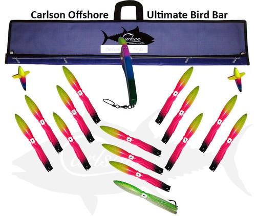 "Carlson Offshore Ultimate Bird Bar 9"" Rainbow Machines"