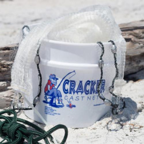Cracker Cast Net 10 ft x 1/2 inch